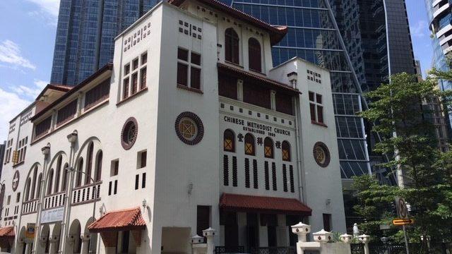 シンガポールの教会