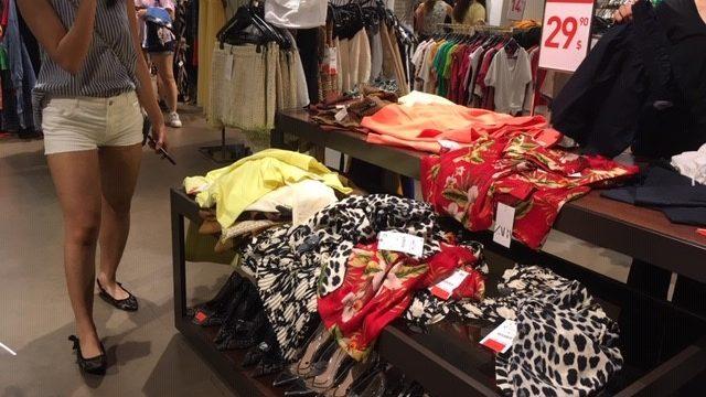 シンガポールの洋服屋